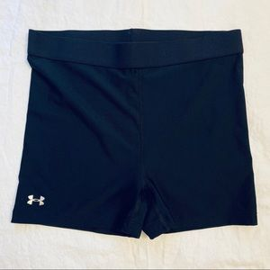 Under Armour Women's Black Compression Shorts